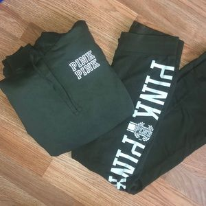 Vs PINK hoodie and sweatpants set